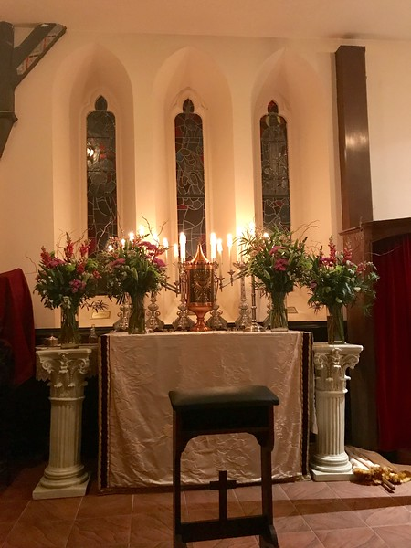 Altar of Repose, Maundy Thursday