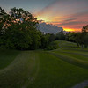 Serpent Mound Sunset