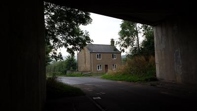 Sad Little House near Swindon 2013.