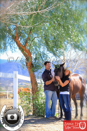 Saddle Up Tours Engagement