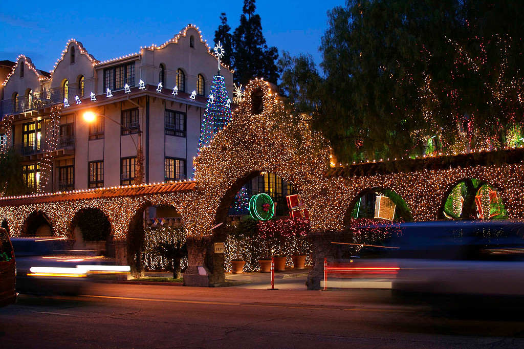 By Claudia Tammen<br /> Festival of Lights at the Mission Inn, Riverside, CA