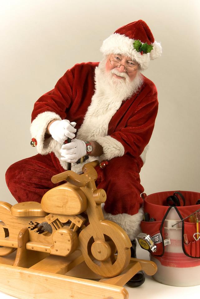 Tool Time Santa<br /> by Sam Graen