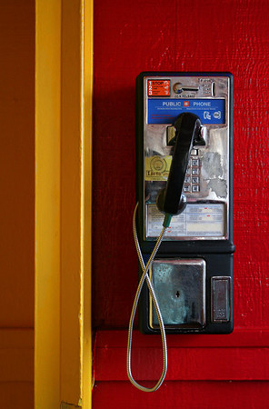 Cheerful Pay Phone<br /> by Denise Baker
