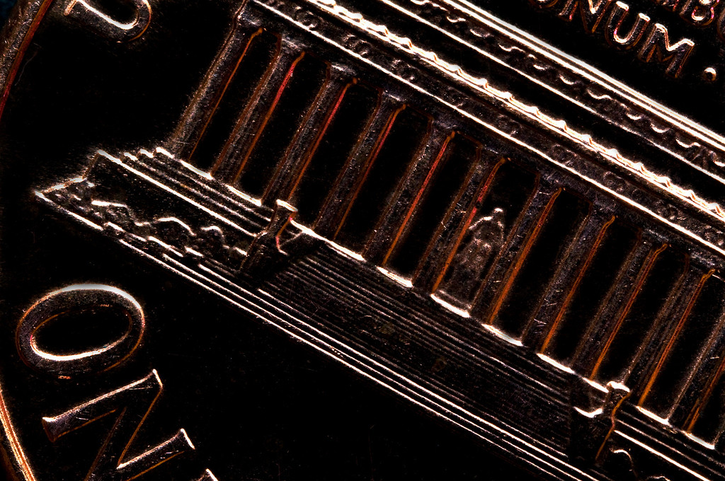 Penny<br /> By Michael Weitzman<br /> <br /> Penny shot w/macro and extension tubes<br /> Light source was available and red LED light