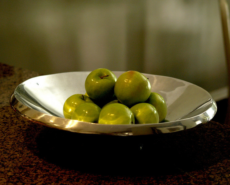 Delicious Tart Green Apples--Great with Cheese & Wine<br /> By Jon Kreider
