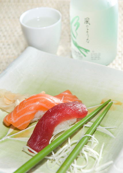 Sake and Sushi<br /> By Michael Weitzman