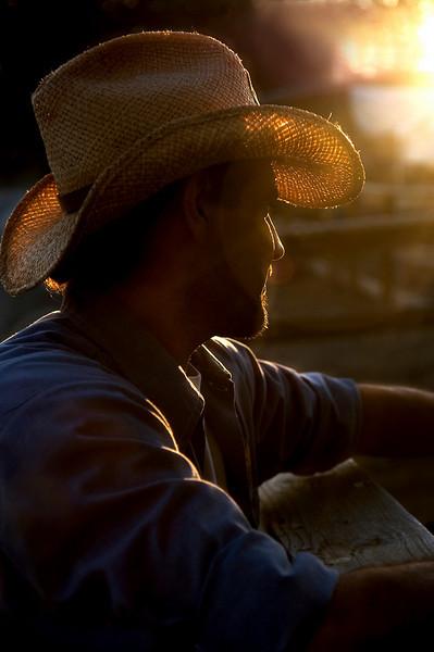 Vaquero at Los Rios<br /> by Michael Weitzman<br /> <br /> Shot at sundown in the Los Rios Historical District of San Juan Capistrano.