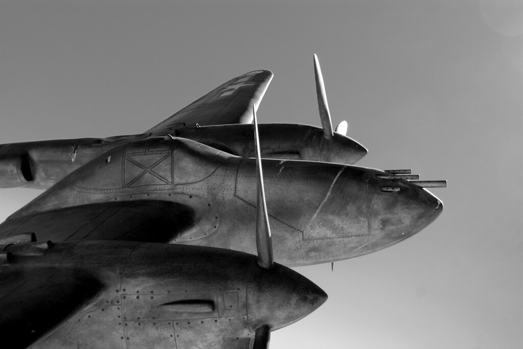 P-38 in the Sky<br /> By Michael Beaty