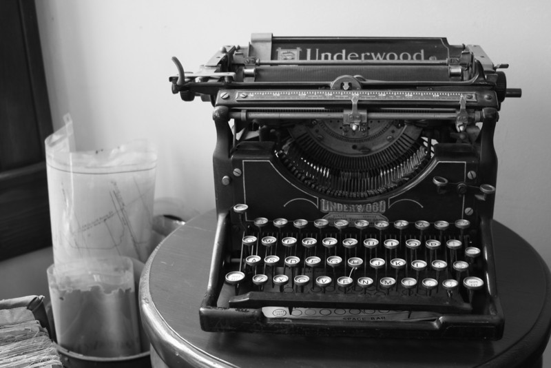 Typewriter<br /> By Sarah Bardowell