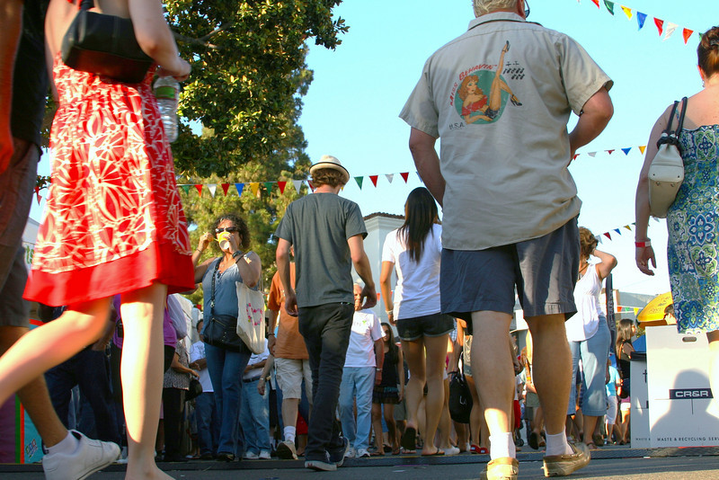 Down Low at the Street Fair<br /> By Laurie Hill