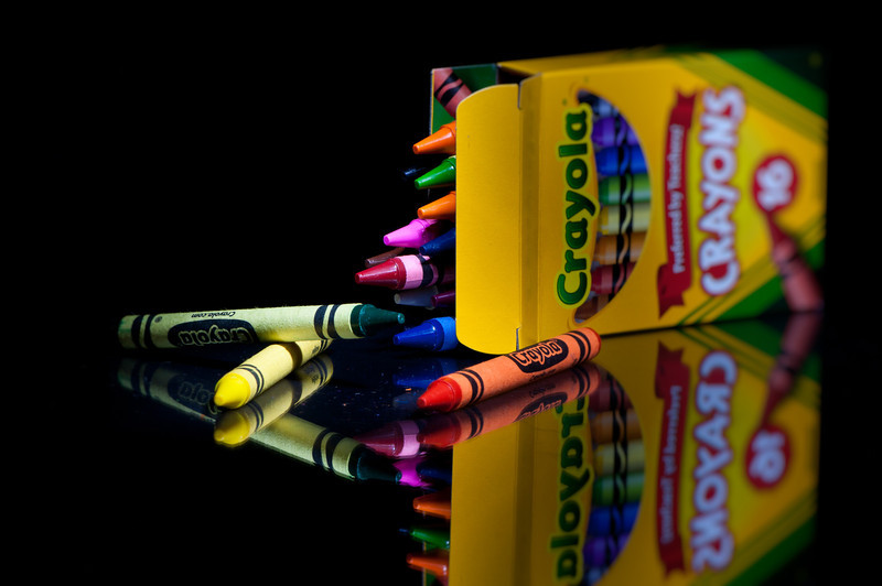 Crayola <br /> By Thomas Bui<br /> <br /> Lightpainting allows the photographer to feathers and brush the light onto the subject that makes it distinctively different from a studio flashed image.<br /> During the long exposure,  a light source ( penlight ) is used to illuminate the subject. The main subject of the scene usually receives the most light while the supporting elements receive less light.<br /> It took me many attempts and hours to get 1 Lightpainting I really like.