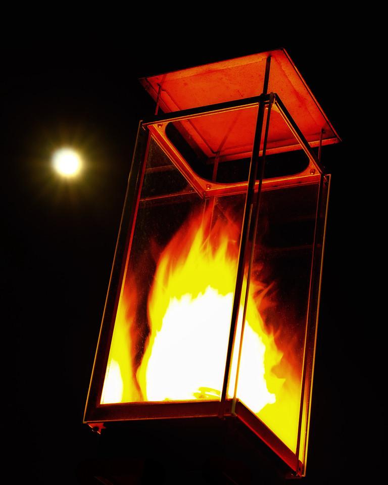 Gas Lamp at Laguna Beach<br /> By Gary Cox