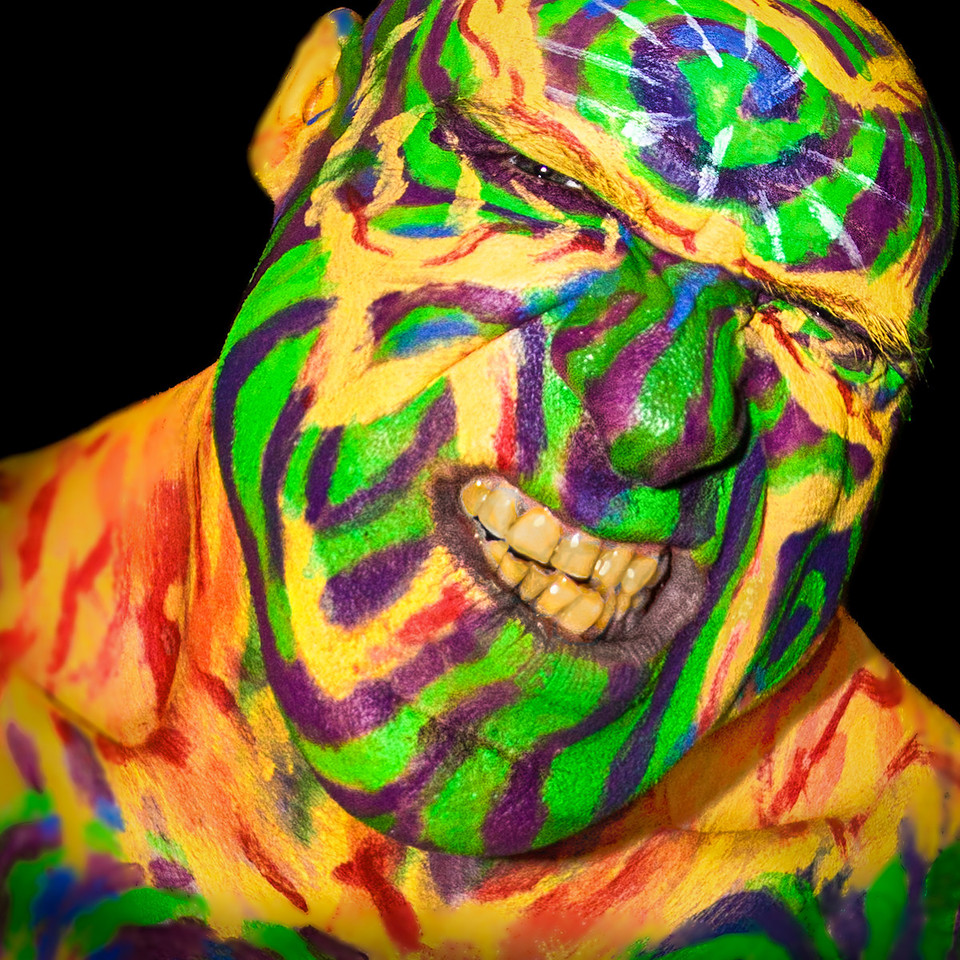 Painted Man<br /> by Vivian Frerichs<br /> <br /> WON 2nd Place in the FACES challenge!!