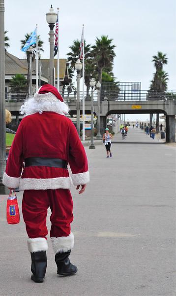Santa at Huntington Beach<br /> By Dymphno Serna