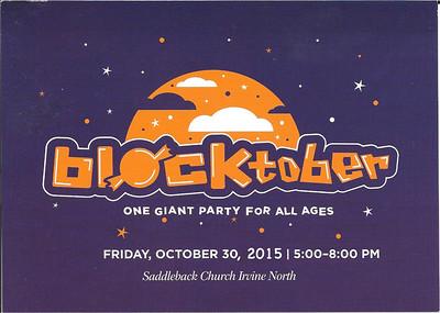 Blocktober 10/30/15