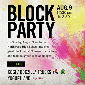Summer Block Party 08/09/15
