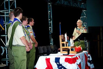 Eagle Scouts Ceremony