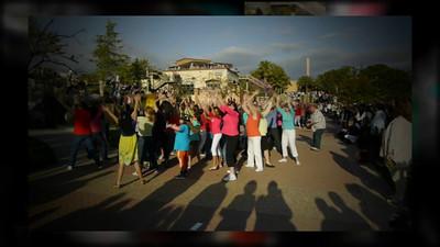 Resurrection Dance Flash Mob Slideshow
