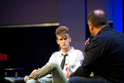 Colton Dixon, a contestant from American Idol, leads worship for Fuel on Sunday night at the Refinery. After the service, he performs a concert and does some questions with Pastor Chris Reed.