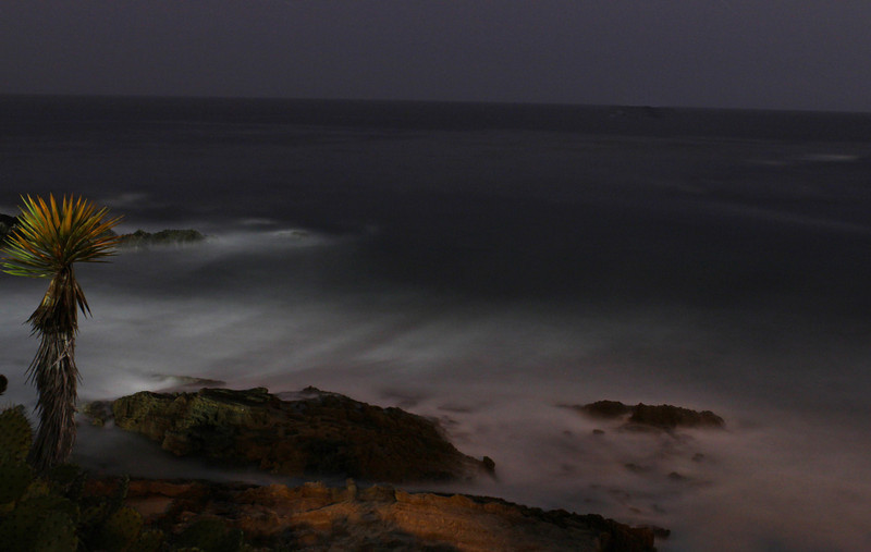 five minute exposure (total darkness); still needed to lighten a little