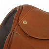 Waterford Jump Saddle by Black Country - Seat Detail, shown in Newmarket