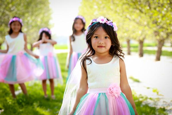 Saesee Girls in Spring
