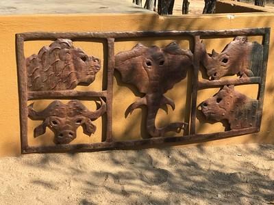 Big 5: lion, elephant, Cape buffalo, leopard, and rhinoceros