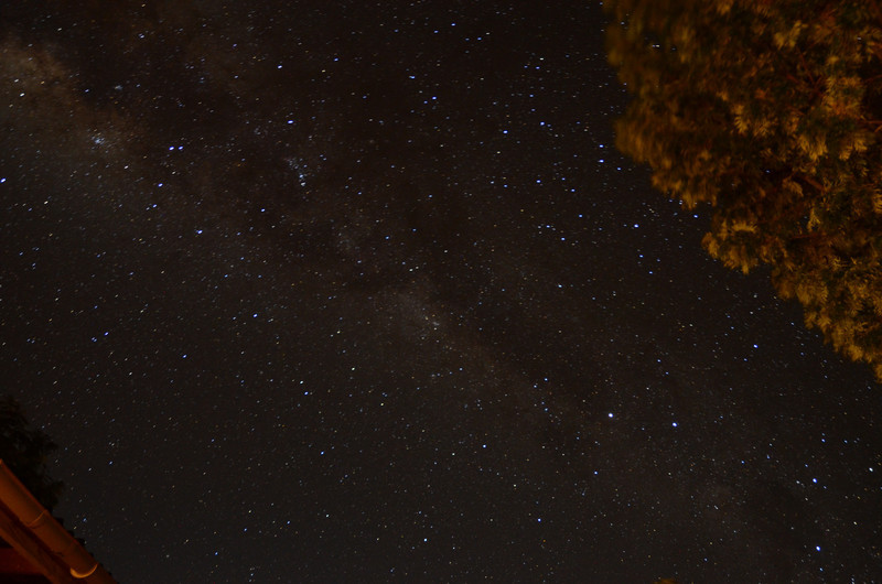 Nightime sky - Tloma Lodge - Karatu, Ngorongoro Highlands
