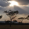 Late afternoon sky - Serengeti