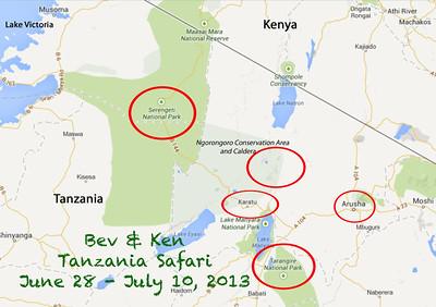 Safari - Maps