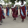 Maasai women dancing - Maasai village - near Tarangire