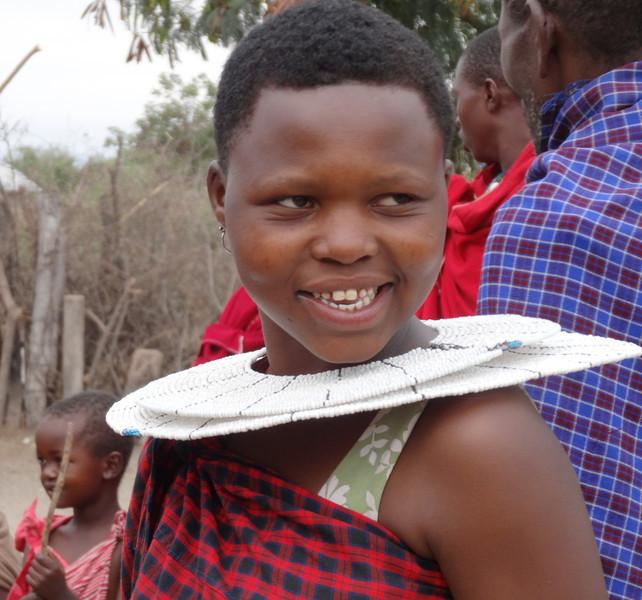 Maasai woman - Maasai village - near Tarangire