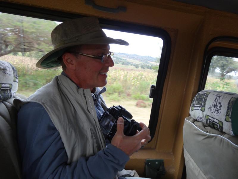 My trusty camera always at the ready - Serengeti