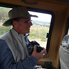 My trusty camera always at the ready - Serengeti