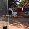"""Street scene (Barack Obama, John Kerry, and Hillary Clinton """"Shops"""") - Karatu, Ngorongoro Highlands"""