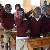 First grade students at Rhotia Primary School - Karatu, Ngorongoro Highlands