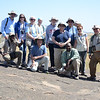 Our OAT Travel Group - including Trip Leader Joshua Lovuto and Driver/Guide Joseph Darema - Moru Kopjies, Serengeti