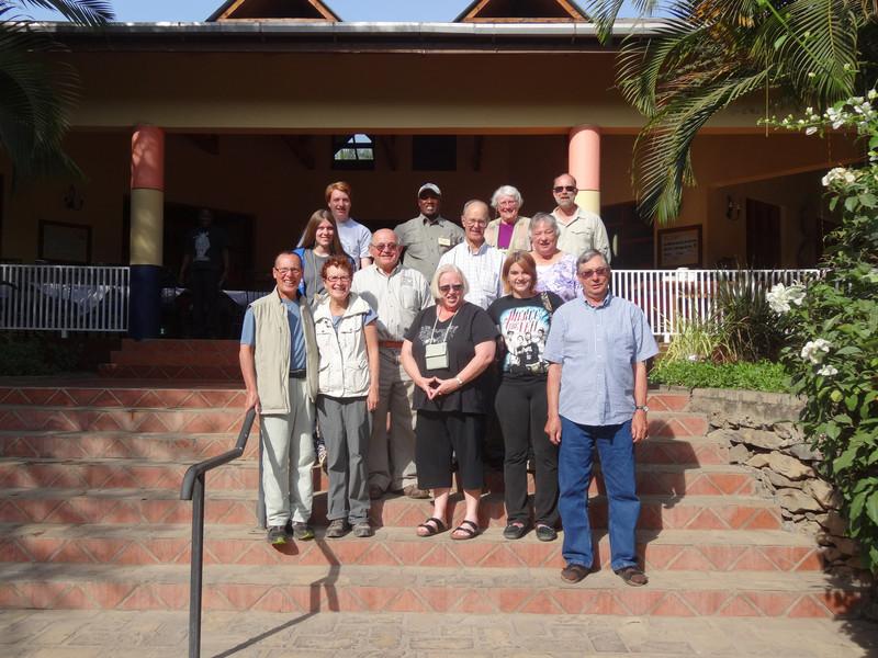 Our OAT Travel Group preparing to return home - Olasiti Lodge, Arusha