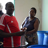 Making banana beer - Arusha