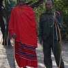 Maasai warrior and guide - Lake Burunge Tented Camp