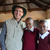 Ken with two students at Rhotia Primary School -Karatu, Ngorongoro Highlands