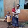 Iraqw woman with her children - Karatu, Ngorongoro Highlands