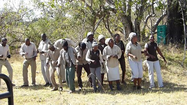 Kwara camp staff serenade  1:44