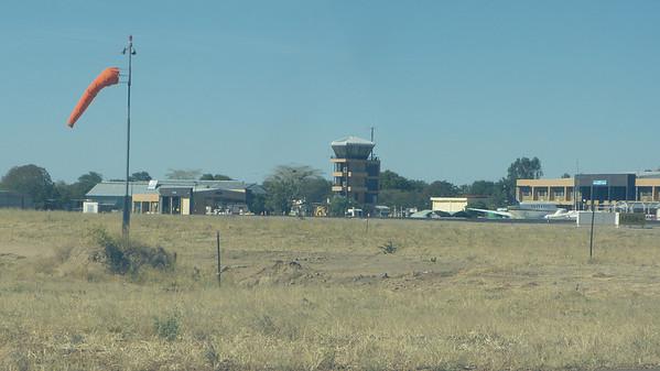Maun, Botswana airport