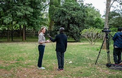 TV interview with Belinda Low Mackey, Co-Founder of Grevy's Zebtra Trust