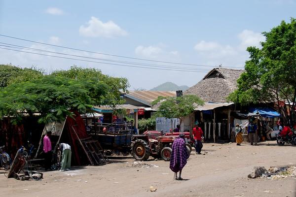 Street view from Arusha to Karatu