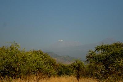 Kilimanjaro view from lake Chala Safari Camp