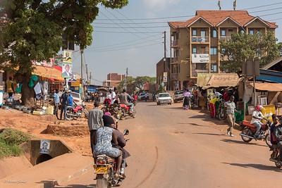On our way to Kampala