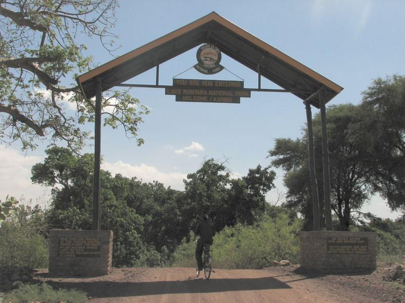 Entrance Lake Manyara National Park
