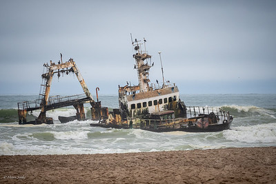 The Zeila Shipwreck (stranded on 25 August 2008)